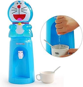Dispensador de agua de 8 tazas, diseño de dibujos animados, 2 litros, botella de agua de Doraemon, dispensador de agua, dispensador de bebidas, mini dispensador de agua para escritorio: Amazon.es: Bricolaje y