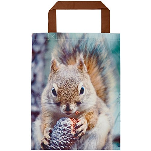 Christmas Shop Fabric Animal Bag (One size) (Squirrel)