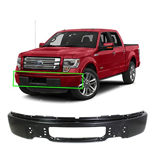 MBI AUTO - Primered, Steel Front Bumper Face Bar Shell for 2009 2010 2011 2012 2013 2014 Ford F150 Pickup 09-14, FO1002414