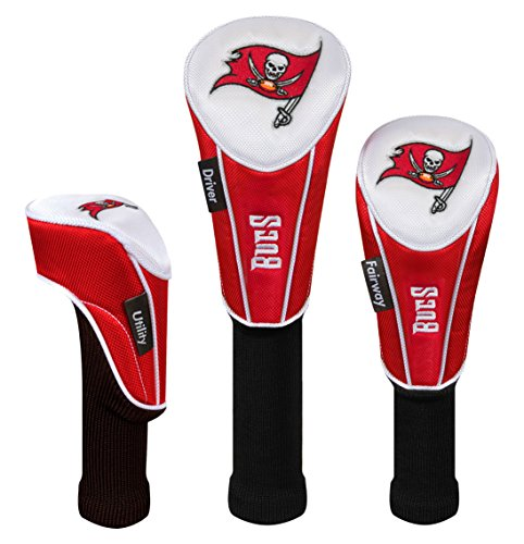 - Tampa Bay Buccaneers Set of 3 Headcovers