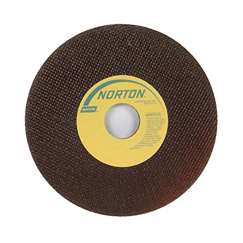Norton Toolroom Reinforced Abrasive Cut-Off Wheel, Type 01 Flat, Aluminum Oxide, 1-1/4'' Arbor, 7'' Diameter, 0.035'' Thickness, 60 Grit (Pack of 25) by Norton Abrasives - St. Gobain
