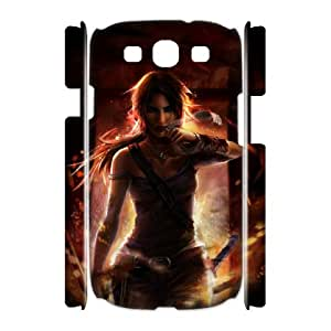 Winfors Rise Of The Tomb Raider Lara Croft Phone 3D Case For Samsung Galaxy S3 I9300 [Pattern-1]