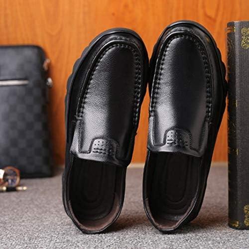 ローファーコンフォートシューズ メンズシューズ 防水 幅広 ビジネスシューズ 紳士靴 防滑 革靴 通気性 防臭 冠婚葬祭 就活 ウォーキング ブラック 春 フォーマル メンズ 靴 ハイキング 紳士靴
