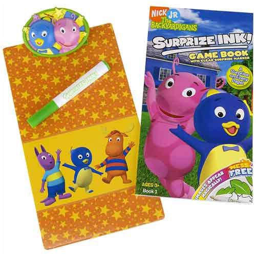 Amazon Nick Jr The Backyardigans Surprise Ink Game Book With