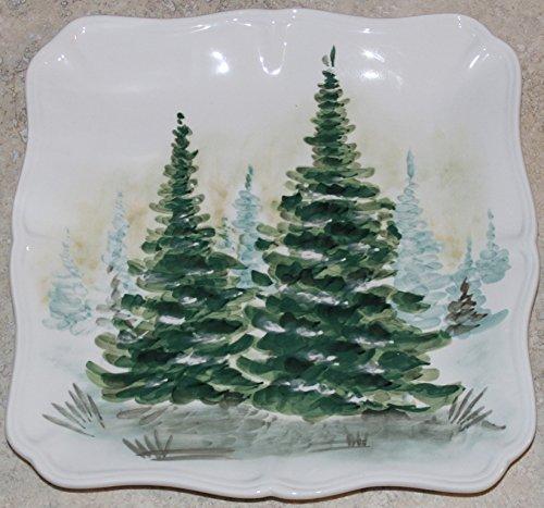 Maxcera Holiday Christmas Trees Square 11-3/4
