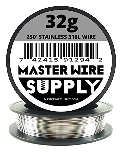 Stainless Steel 316L - 250' - 32 Gauge Wire