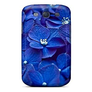 New Arrival Galaxy S3 Case Blueflower Case Cover