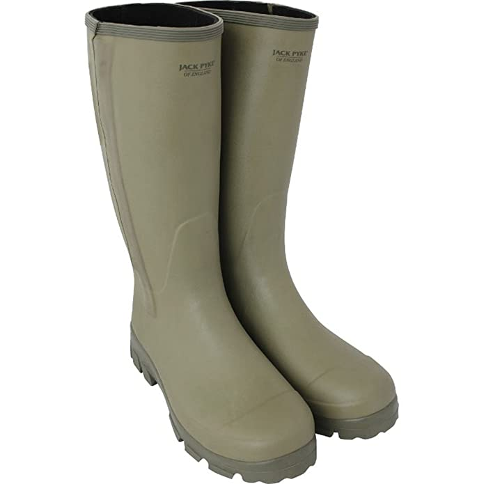 53615d55d9b Military and Outdoor Jack Pyke Ashcombe Zipped Wellington Boot ...