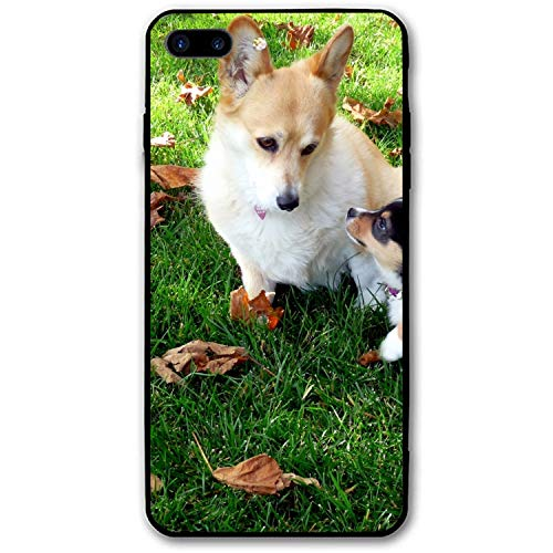iPhone 7/8 Plus Case Corgi Mom Printed Hard PC Protective Case Cover Compatible for iPhone 8 Plus/iPhone 7 Plus 5.5 inch