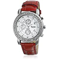 Bling Jewelry Geneva Stainless Steel Back Watch