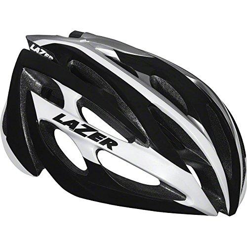 Lazer O2 Helmet: White and Black SM