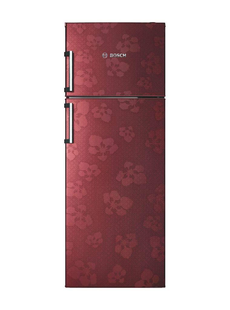 Bosch 347 L 3 Star (2019) Frost-Free Double Door Refrigerator (KDN43VV30I, Wine Red)