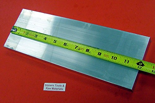 30 Pieces 1/4'' X 4'' ALUMINUM 6061 FLAT BAR 12'' long T6511 .250'' New Mill Stock by Stoner Metals