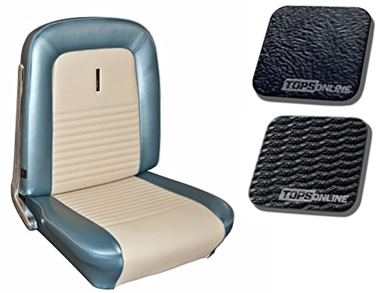 1967 Ford Mustang Deluxe Bucket Seats Full Set Front