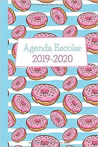 Agenda Escolar 2019-2020: Donas. Para Estudiantes y ...