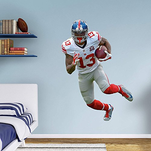 Fathead NFL New York Giants Odell Beckham Jr. No. 13 Wall Decal by FATHEAD