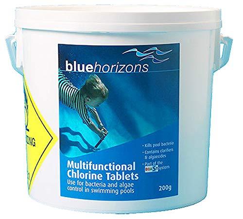 Blue Horizons 5kg Quality Multifunctional Large Chlorine Tablets 200g SWIMMING POOL Intex CPC