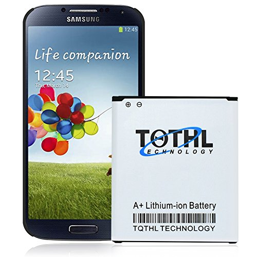 TQTHL 4000mAh Extended Slim Replacement Battery for Samsung Galaxy S4 S 4 i9500 R970 M919 L720 i545 i337 i9505 Phone