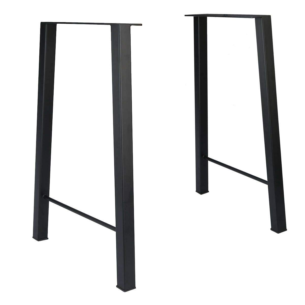 Tengchang 28'' Industry Dinner Table Leg Metal Steel Bench Legs DIY Furniture by Tengchang