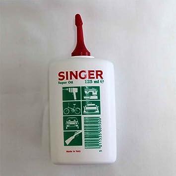 Aceite «Singer», lubricante para las partes mecánicas de electrodomésticos: Amazon.es: Bricolaje y herramientas