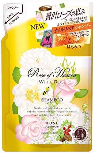 Kose Cosmeport - Rose of Heaven Shampoo (deep repair) Refill 350mL