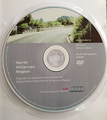Amazon com: 2016 AUDI MMI 2G NAVIGATION SOFTWARE UPDATE CD DVD NORTH