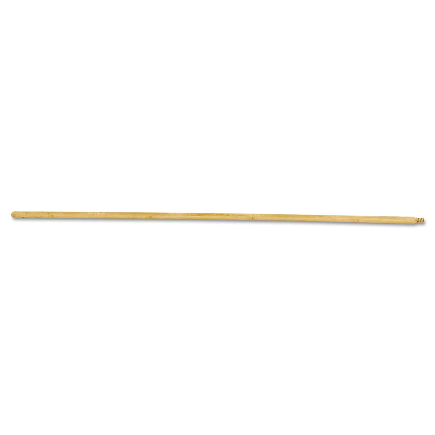 Boardwalk 121 Threaded End Broom Handle, Lacquered Hardwood, 15/16 dia x 54, Natural LAGASSE Inc. BWK 121 ZXA05219