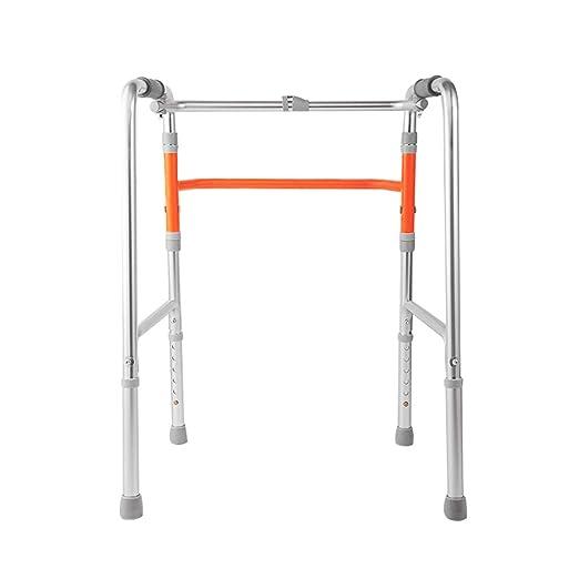 EGCLJ Altura Ajustable Plegable Walker For Andador Médico De ...