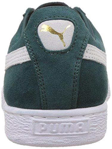 Puma Suede Classic - Zapatillas de baloncesto para hombre verde Size: 7 Verde (Ponderosa Pine/Bianco)