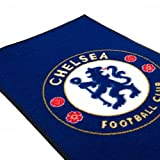 Chelsea F.C. Rug- bedroom rug- approx 80cm x 50cm- 100%Polyamide- machine washable- on a header card- official licensed product
