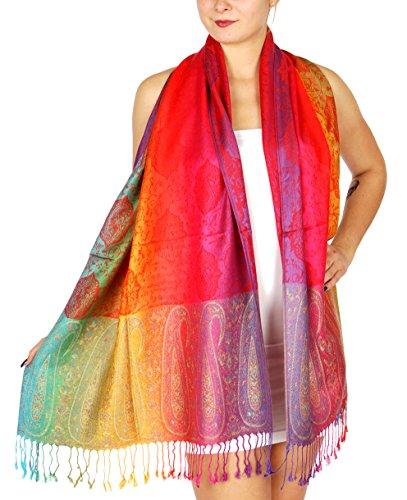 NYfashion101 Elegant Colorful Pashmina NBH1401Y product image
