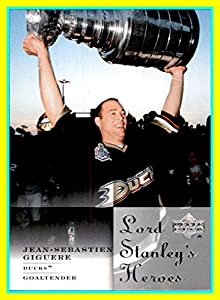 2007-08 Upper Deck Lord Stanley's Heroes #LSH2 Jean-Sebastien Giguere anaheim ducks