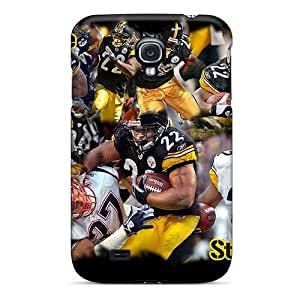 New Fashionable Busttermobile168 NnM23589IQvr Covers Cases Specially Made For Galaxy S4(pittsburgh Steelers) Black Friday