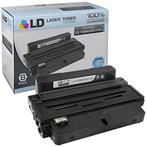 LD Compatible Replacement for Xerox 106R02307 High Yield Black Laser Toner Cartridge for use in Xerox Phaser 3320 Printer -