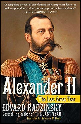 the emancipation manifesto signed by czar alexander ii _____