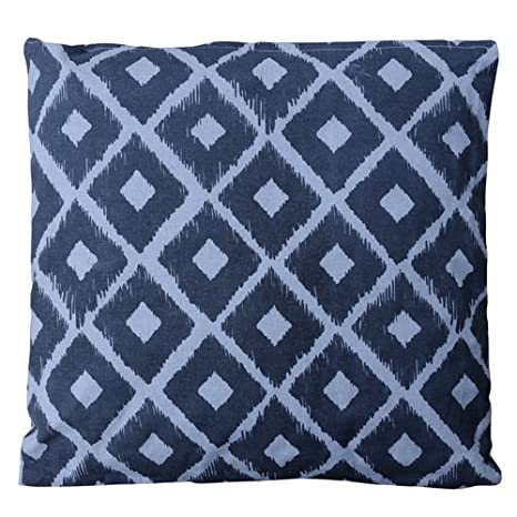 Herstera 13203845 - Cojin Rombos, 45 x 45 cm, Color Gris ...