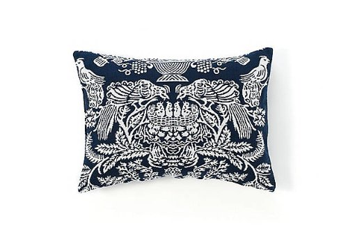 Belle Epoque Wilmington Boudoir Pillow, Blue (Boudoir Bella Pillow)