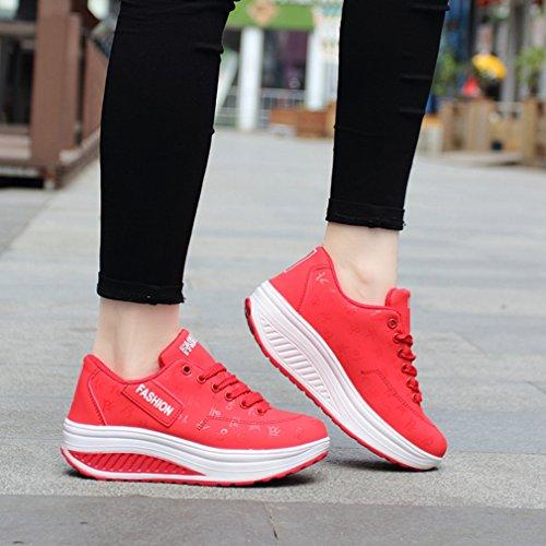 LFEU Sneaker Rosso Sneaker Sneaker Donna LFEU Rosso Donna LFEU qf1wYzp