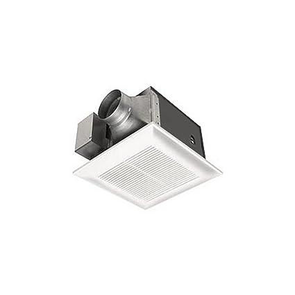 Panasonic FVVK WhisperGreen CFM Ceiling Mounted Ventilation - Panasonic 50 cfm bathroom exhaust fan