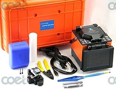 Original JILONG KL300T Optical Fiber Fusion Splicer Kit w/ Cleaver equal FUJIKURA Core Alignement Fiber Splicing Machine