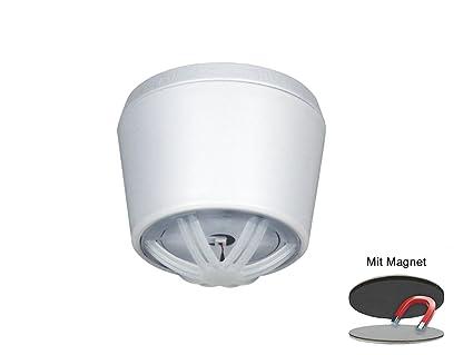 Elro 10 Años Mini Detector de Calor con Soporte magnético, Ideal para Cocina o Baño