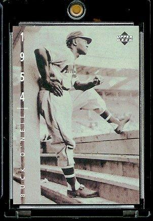 1994 Upper Deck The American Epic Baseball Card #61 Buck O'Neil ()