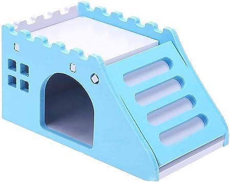 Morehappy7 - Hámster para Mascotas, Juguete para Ejercicio, diseño de cobaya, Castillo de Animales pequeños: Amazon.es: Deportes y aire libre