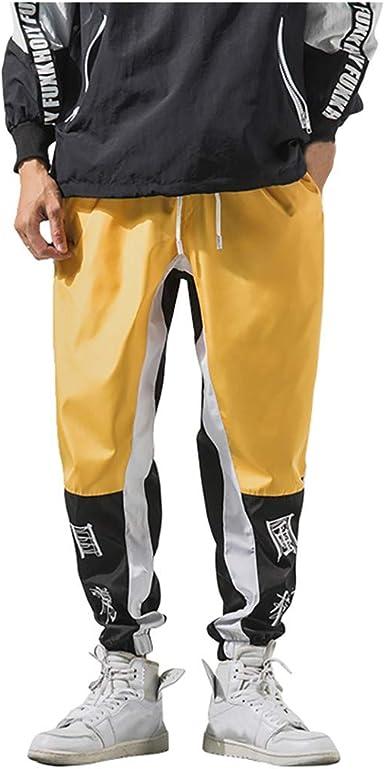 Pantalones Deportivos para Hombre Ocio Suelto Pantalones Harem ...