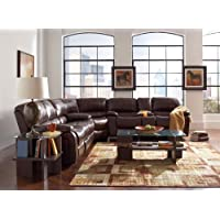 Coaster Home Furnishings 600357B5 Casual Sectional Sofa, Brown