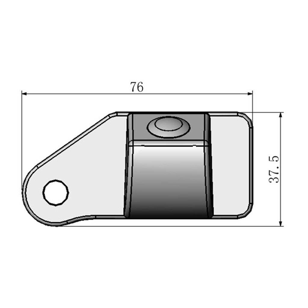 for Mitsubishi Outlander Sport 2010~2015 Car Rear View Camera Back Up Reverse Parking Camera//Plug Directly