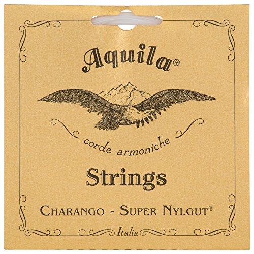Best Synthetic Gut String (Aquila AQ-1CH Charango Strings - 1 Set of 5)