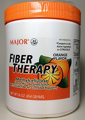 Major Soluble Fiber Therapy, Powder 16oz per Bottle