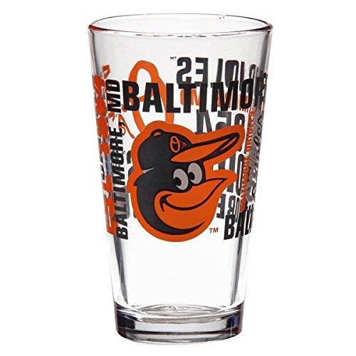Boelter Brand Baltimore Orioles 16 Oz. Spirit Pint Glass (Baltimore Orioles Glass)