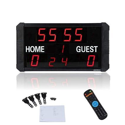 Marcador digital,Marcador electrónico LED portátil Guardián de ...